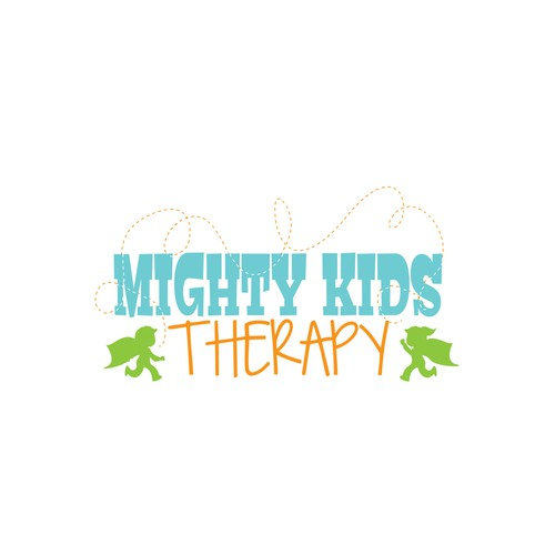 Logo for Mighty Kids Therapy