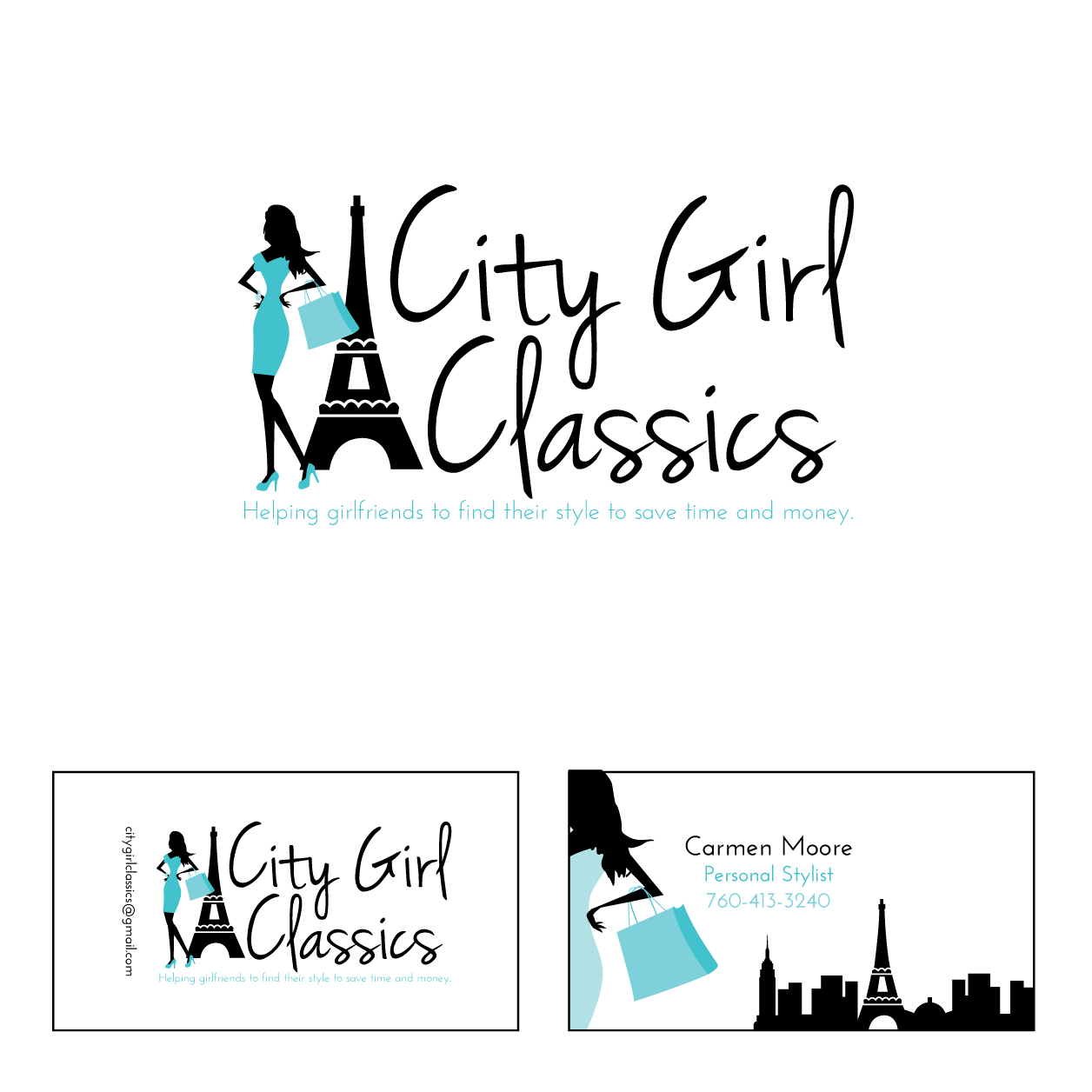 City Girl Classics needs a new logo and business card