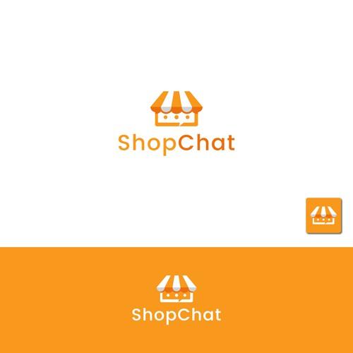 ShopChat logo concept