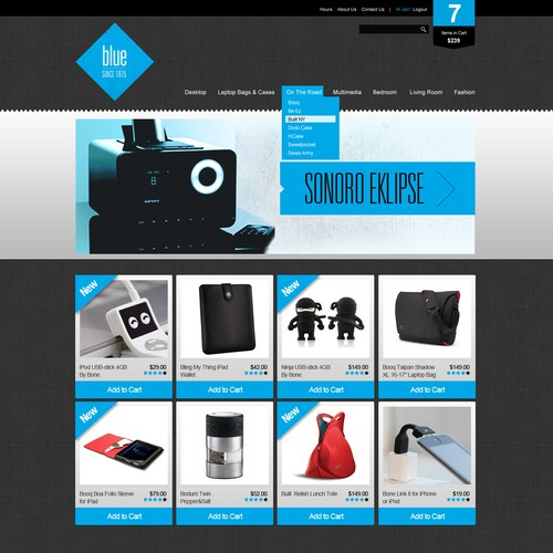 eCommerce Template Design Contest - 10-20 winners!
