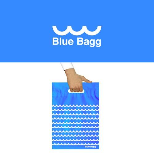 Logo for Blue Bagg