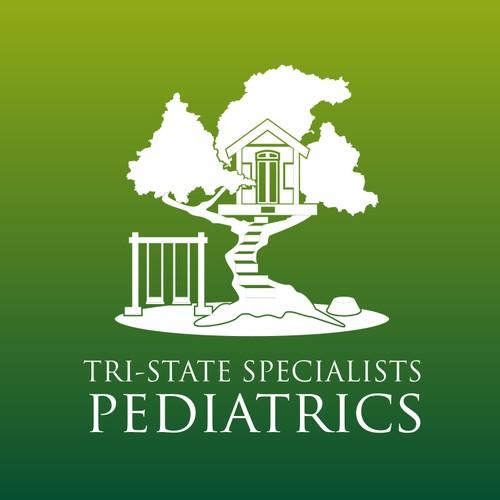 tri State Speciallist pediatrics logo designs .
