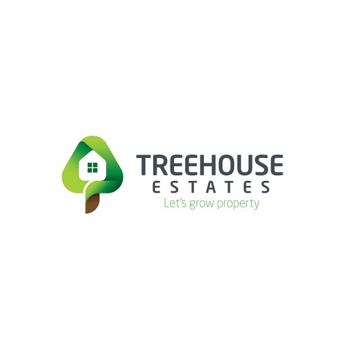 Logo for a property business based in London.