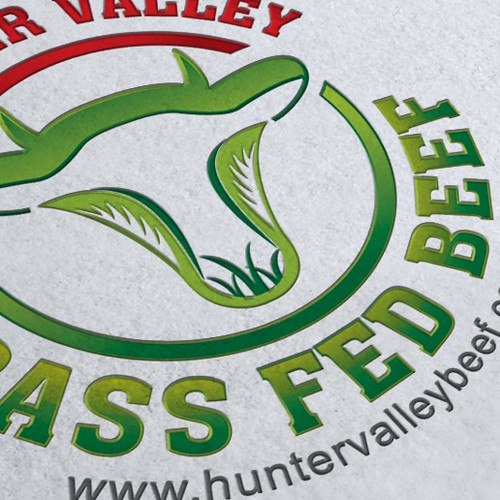 Create the next logo for Hunter Valley Grass Fed Beef