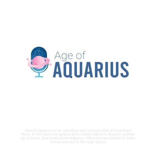 Age Of Aquarius Logo Concept