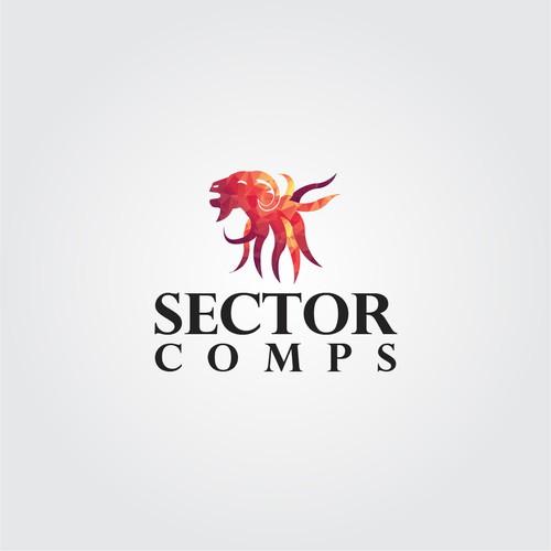 A happy-go-lucky 'Goatopus' (Goat & Octopus hybrid) logo for a website