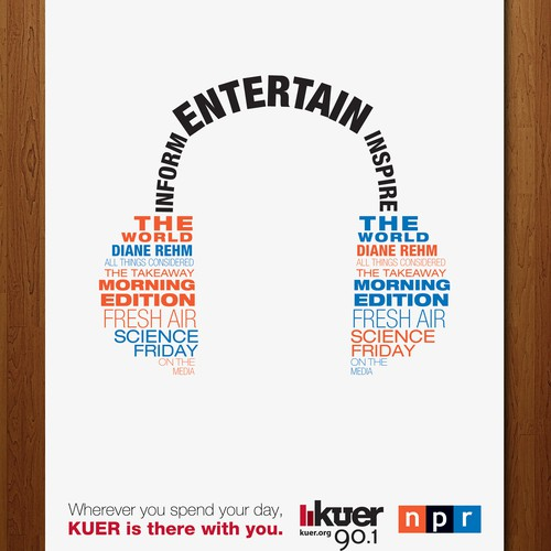 Advertisement for KUER 90.1