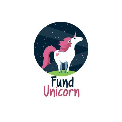 Simple Unicorn Logo Design
