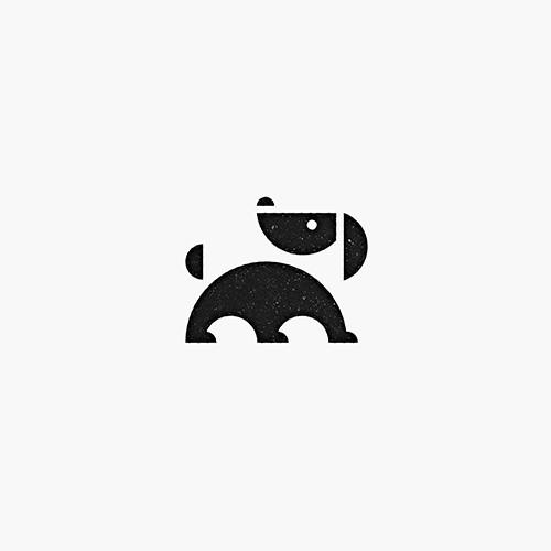 Stylish logo for a dog trainer business