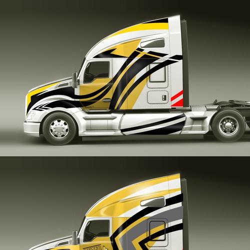 design for ZARFER trucks