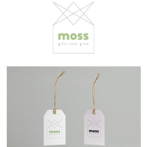 Logoentwurf «moss – gift that grow
