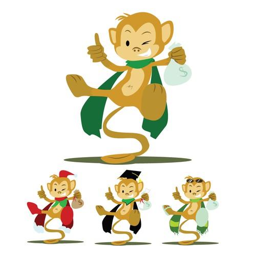 Super Money Monkey needs a new art or illustration