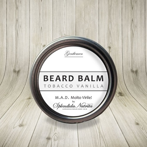 Label for Male Skincare Products