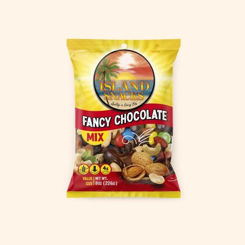 Island Snacks Bag Design