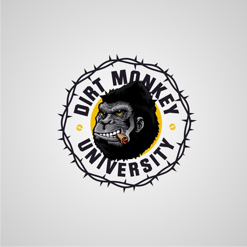 Dirt Monkey University Mascot