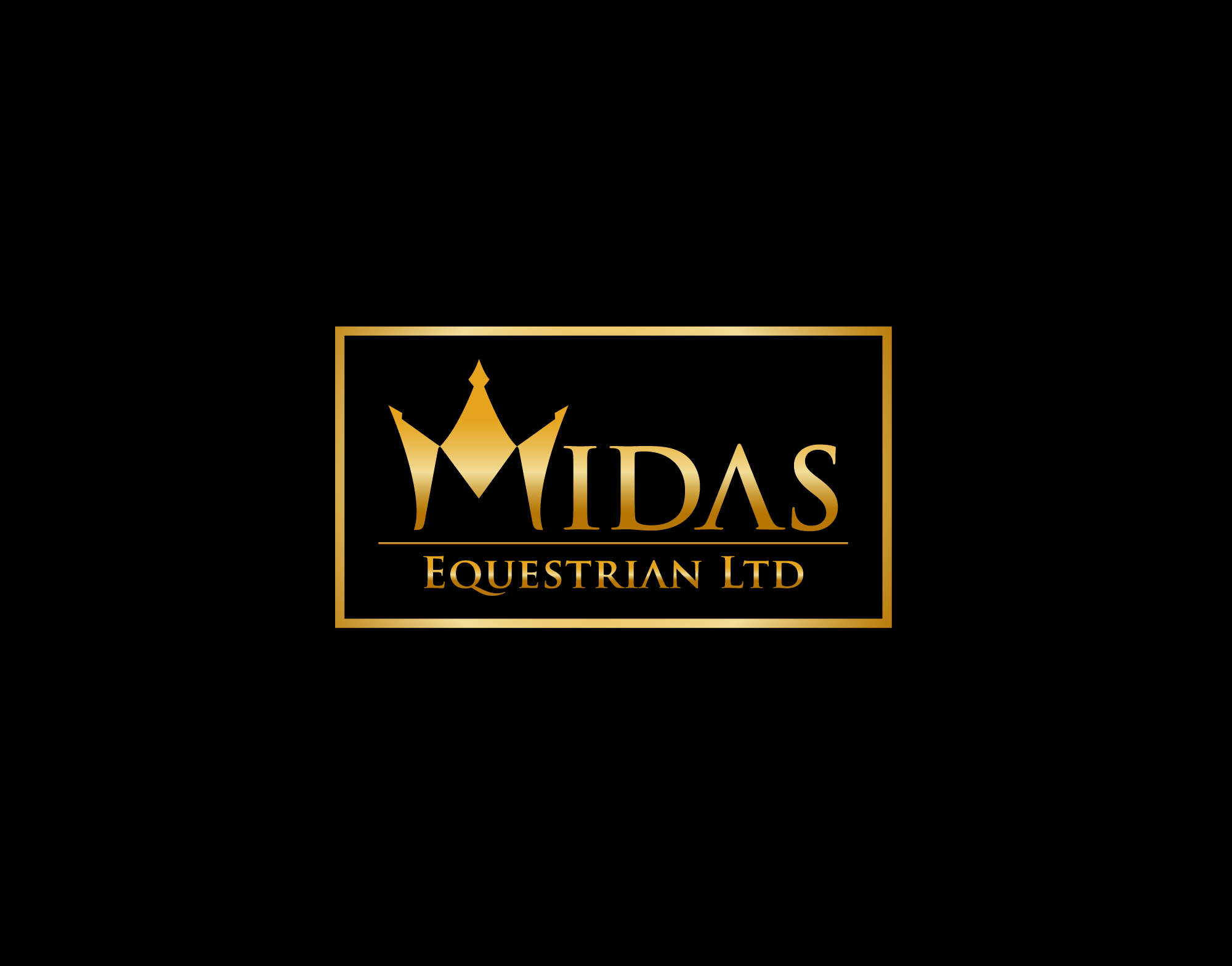 Create the next logo for Midas Equestrian Ltd