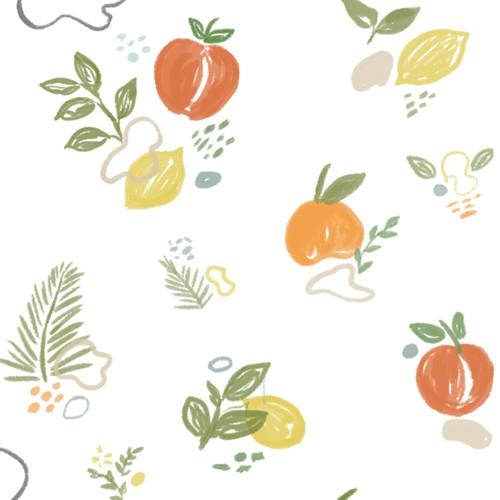 Mural Pattern Illustration