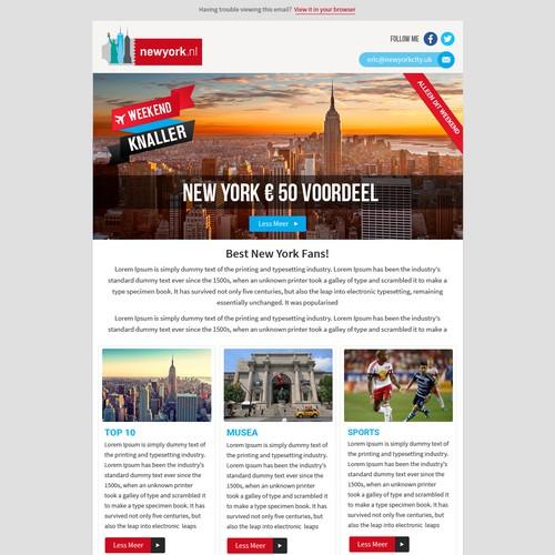 Newsletter Design York Media Group