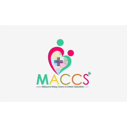 Create a vibrant, professional yet child-friendly logo for a world-class paediatric practice