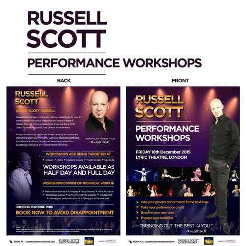 Ruseel Scott Performance Workshop