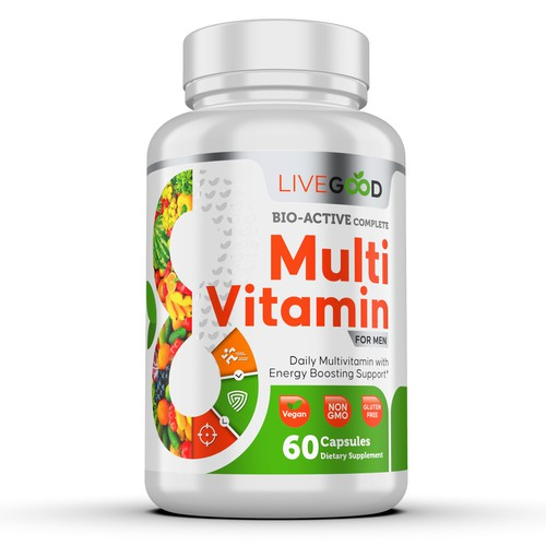 LIVE GOOD MULTI VITAMIN FOR MEN