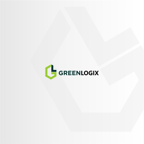 Simple Logo concept for greenlogix