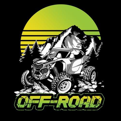 Off Road T-shirt design