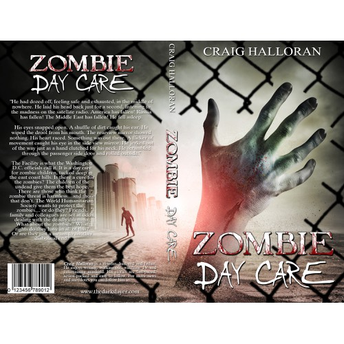 Zombie Book Cover Design - Full Pro Cover