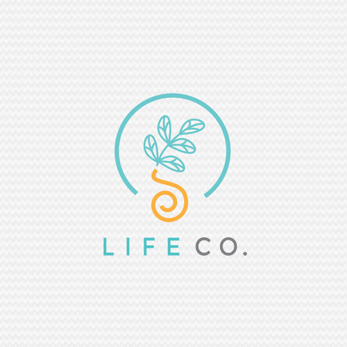 little plants for wellbeing life logo