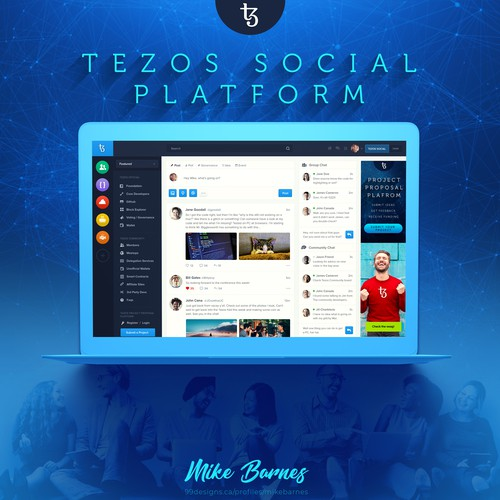 Tezos Social Platform