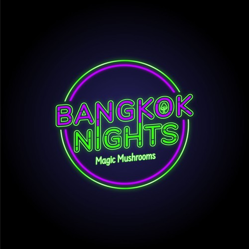 Logo Design For a Psychedelic Magic Mushroom Brand