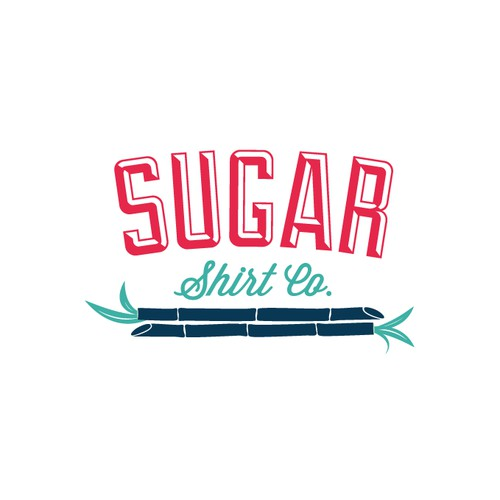 Logo for a new line of modern Hawaiian shirts
