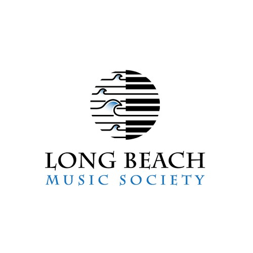 beach music logo
