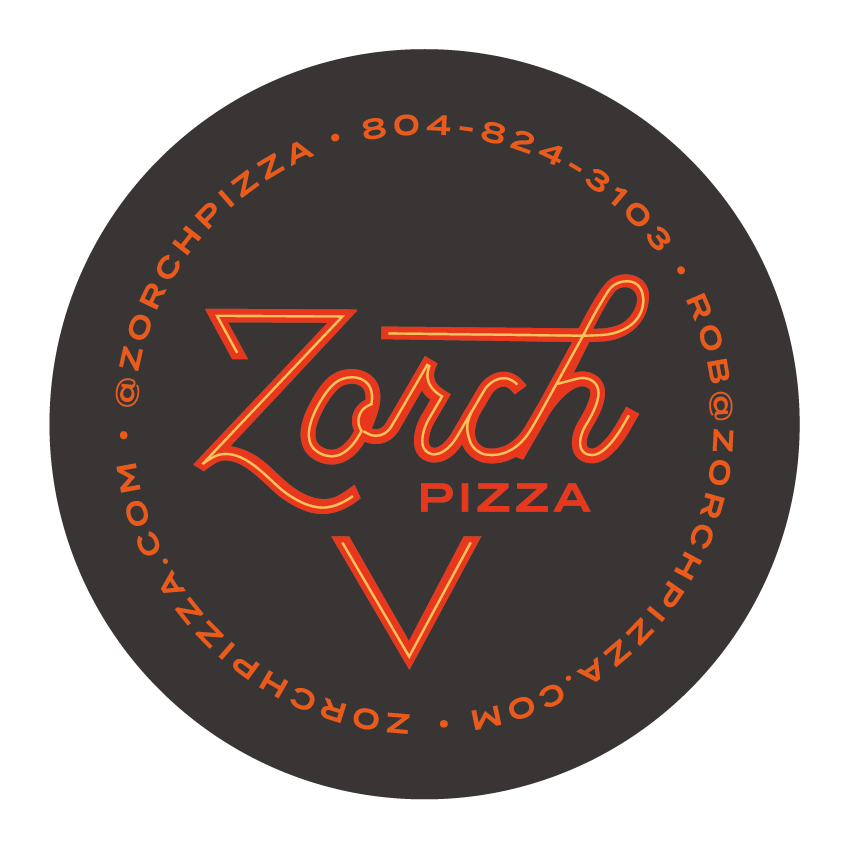 Zorch Pizza - Business Card