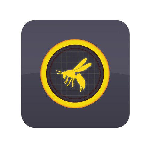 iOS App Icon for SWARM - Used by S.W.A.T. Teams