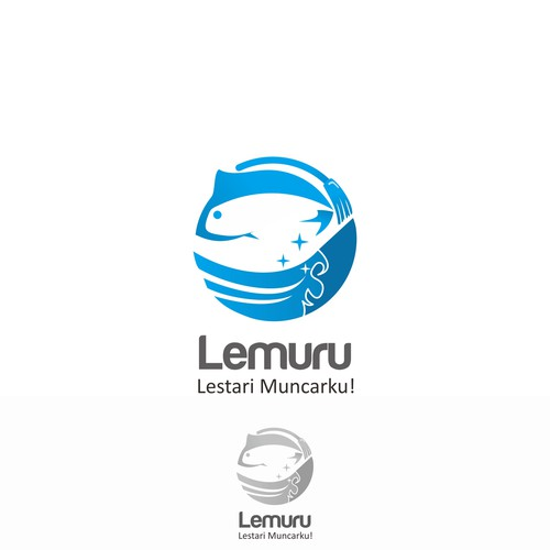 Logo concept for lemuru
