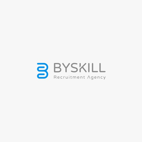 Clean Logo design for BYSKILL