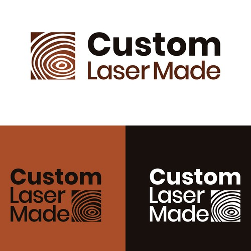 Logo concept for custom decorative wood gifts