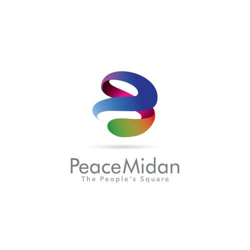 Vibrant logo for Peace Midan