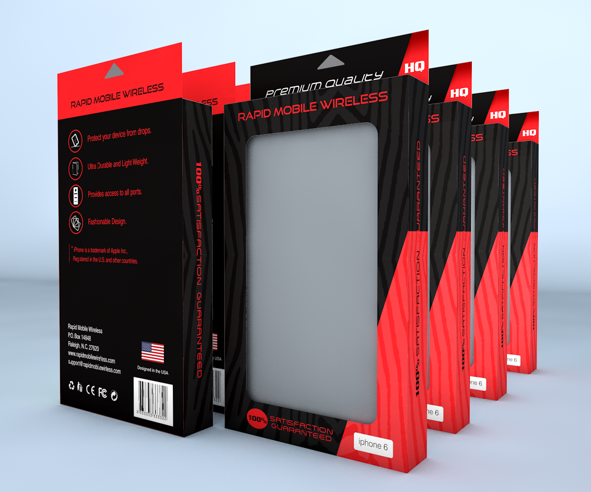 Eye Catching Cell Phone Packaging
