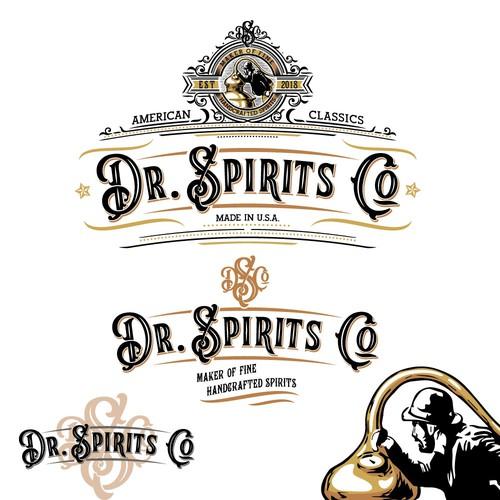 Dr Spirits logo