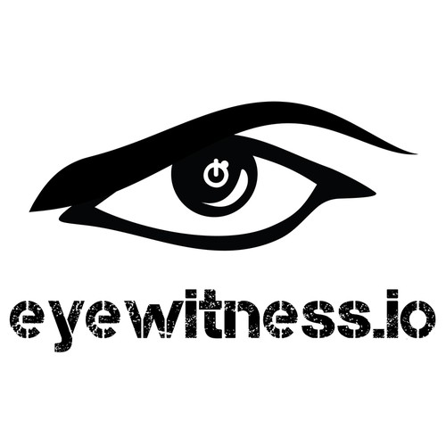 Create a new logo for an upcoming website launch for Eyewitness.io