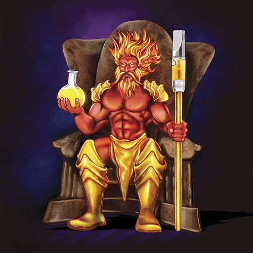 Disty Gods Throne mascot