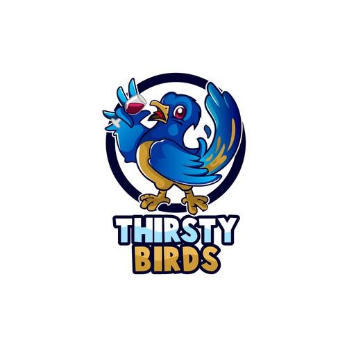 Thirsty Birds