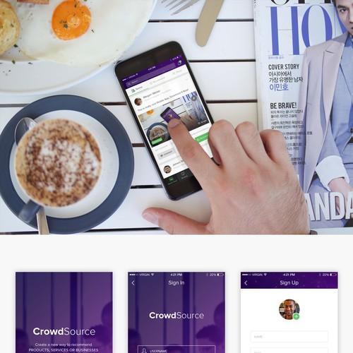 Crowdsource App