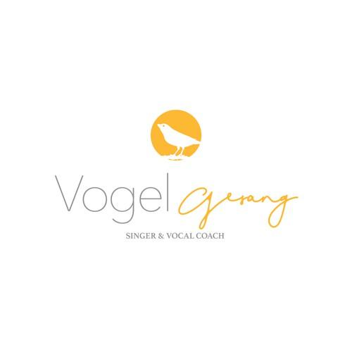 Logo concept for Vogel Gesang