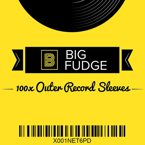 "Sticker design for ""Big Fudge"""