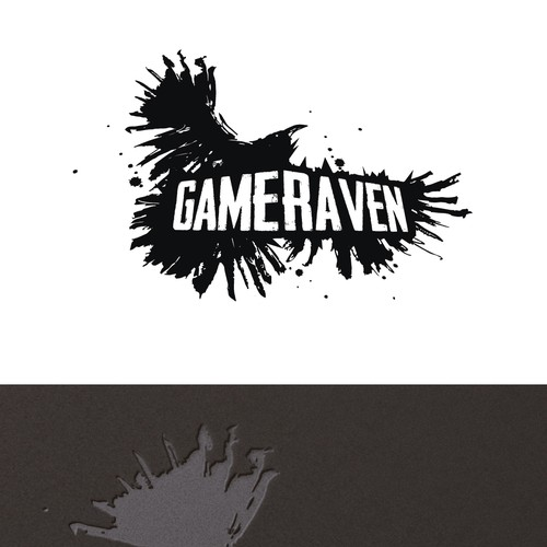 Bold logo for Gaming site.