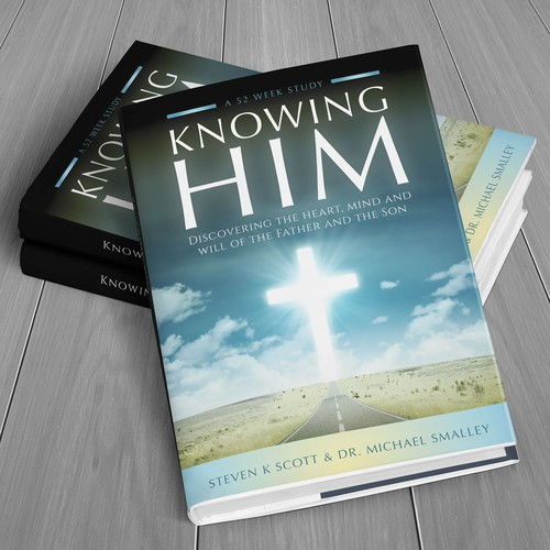 "Book cover design for ""Knowing Him"""