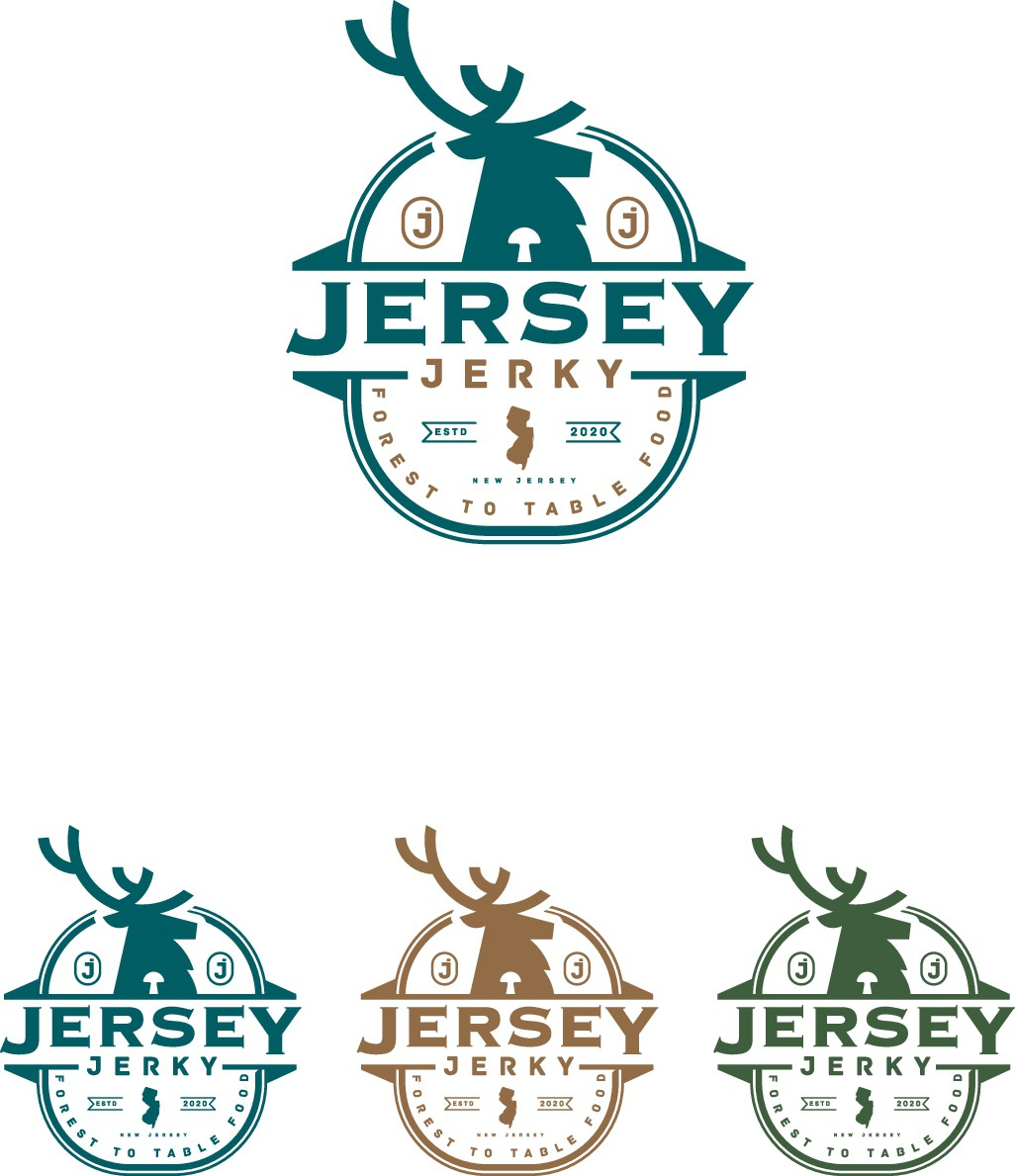Jerky logo (Venison/Mushroom/Banana)
